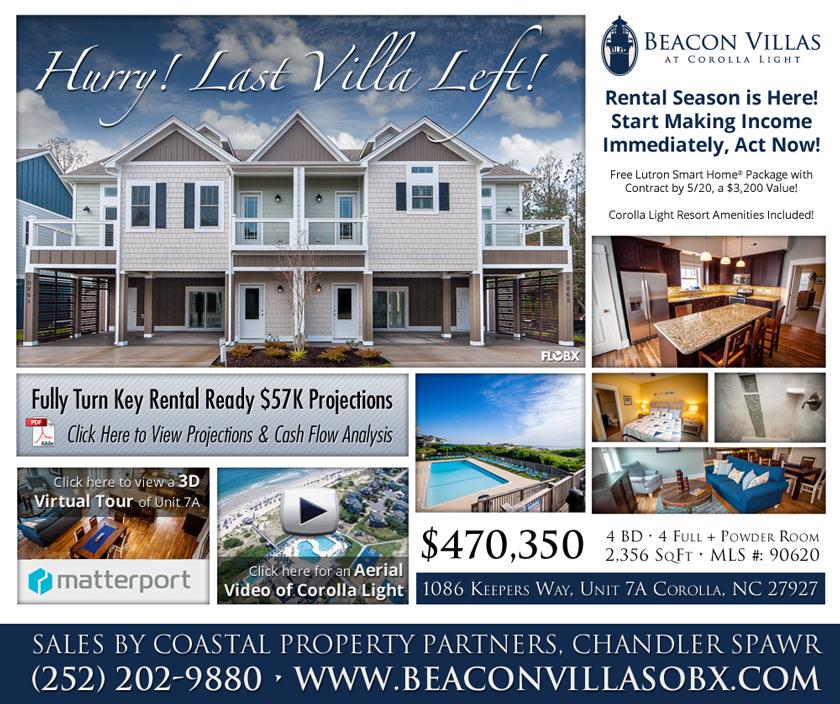 Hurry! Last Villa Left at Beacon Villas! - Florida Outer Banks Real Estate Development
